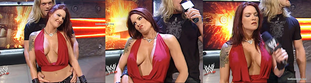 Lita Hot Boobs cleavage