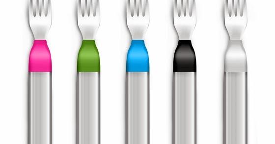 Aprendiendo a comer despacio con el HapiFork