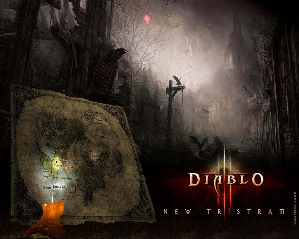 Diablo HD & Widescreen Wallpaper 0.96157685347911