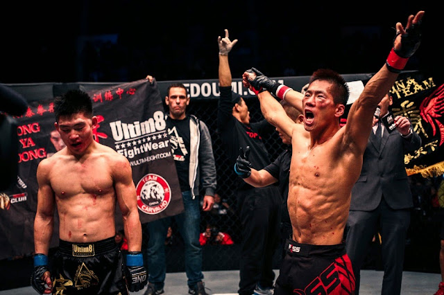 Ji Xian defeats Song Da Yong in ONE FC 24 Dynasty of Champions