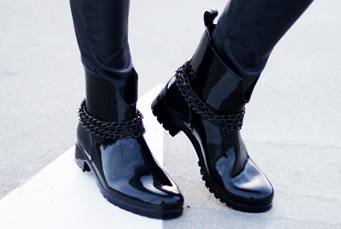 Fashion Attacks new chain boots diy