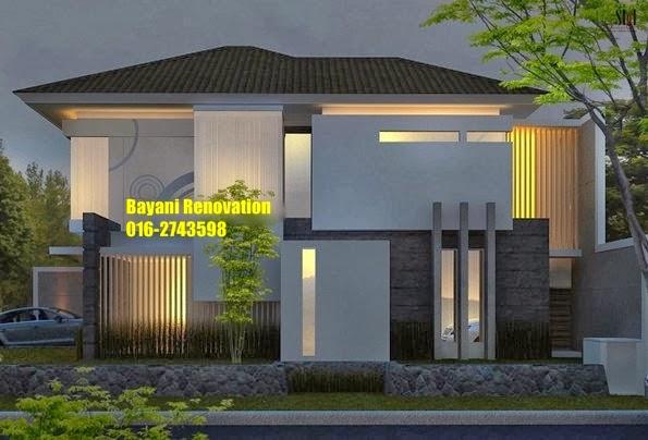 desain rumah banglo moden bayani home renovation