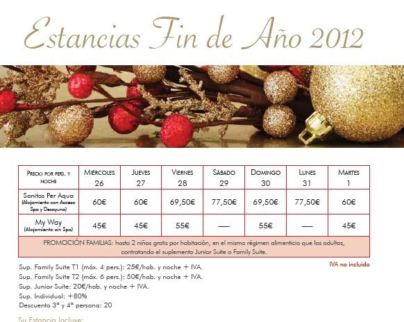 Alojamiento y cena fin de a o 2012 galicia turismo galicia - Cenas para fin de ano ...