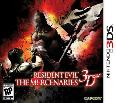 La cover di Resident Evil: The Mercenaries 3D