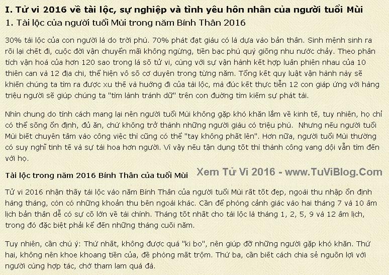 Van Menh Nguoi Tuoi Mui 2016