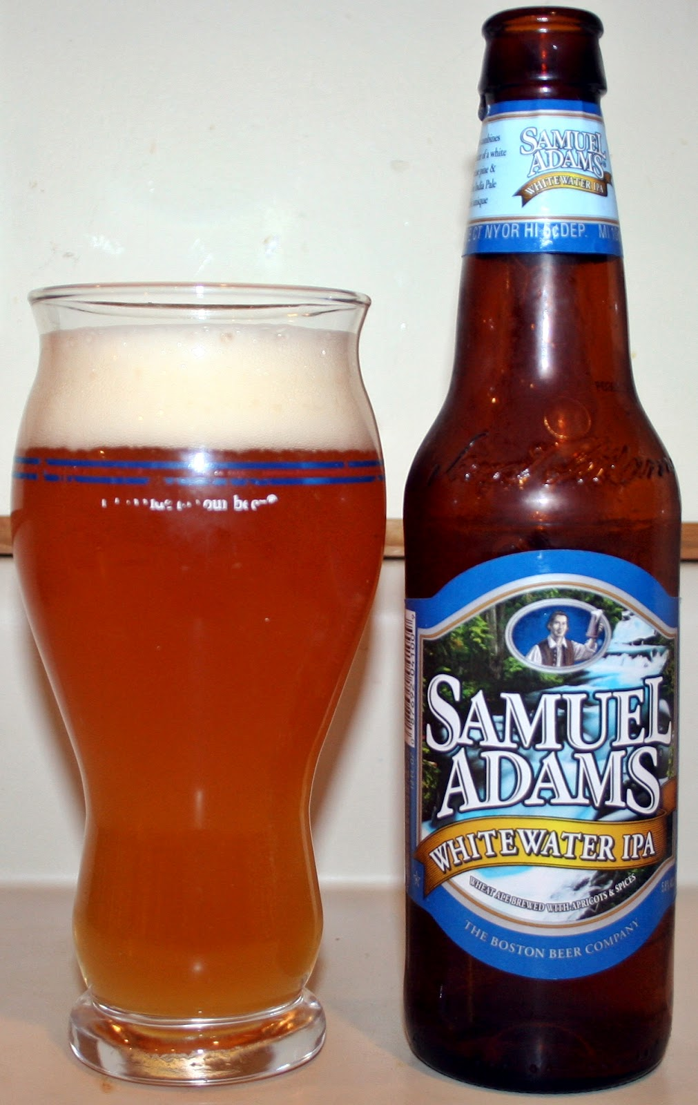 firs it was the black ipa and now a white ipa combining a witbier with an american ipa this makes for an interesting combination and one that - White Christmas Sam Adams