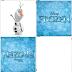 Frozen: Juego de Memoria para Imprimir Gratis.