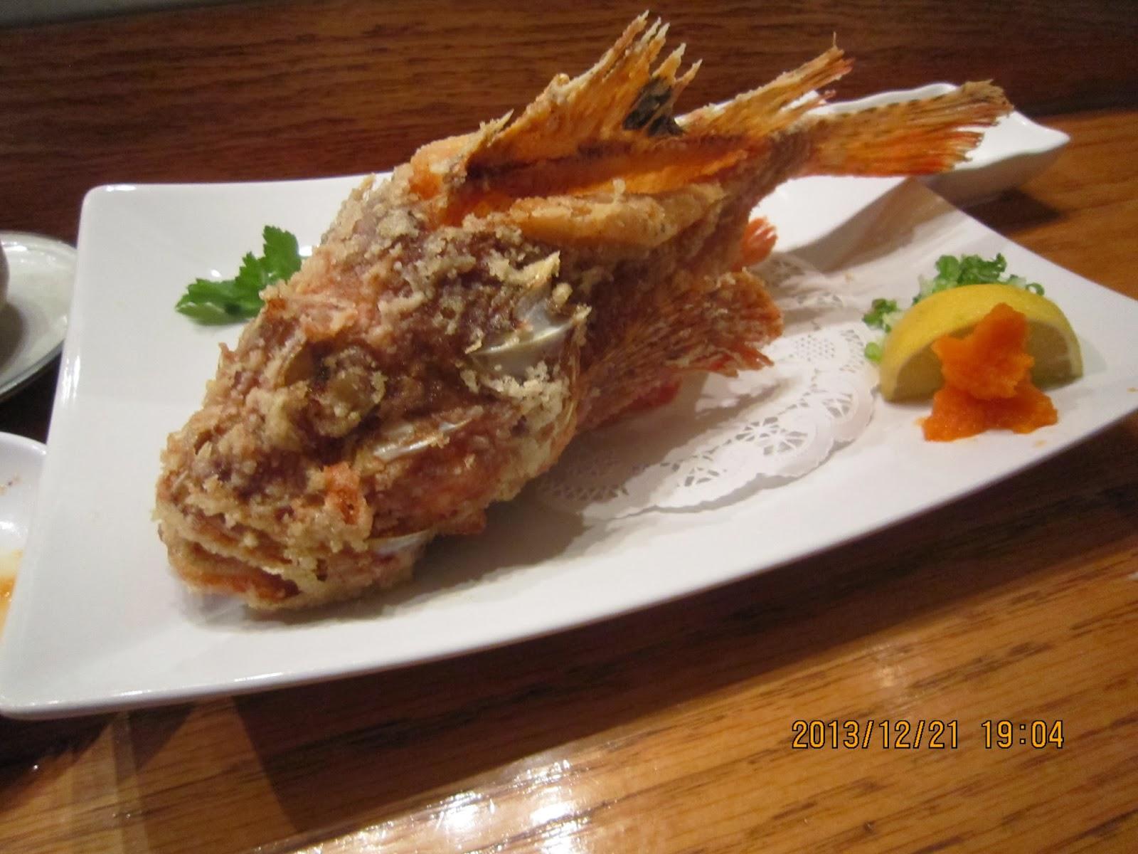 Rambling and gambling takesushi sunnyside the best for Fish as food