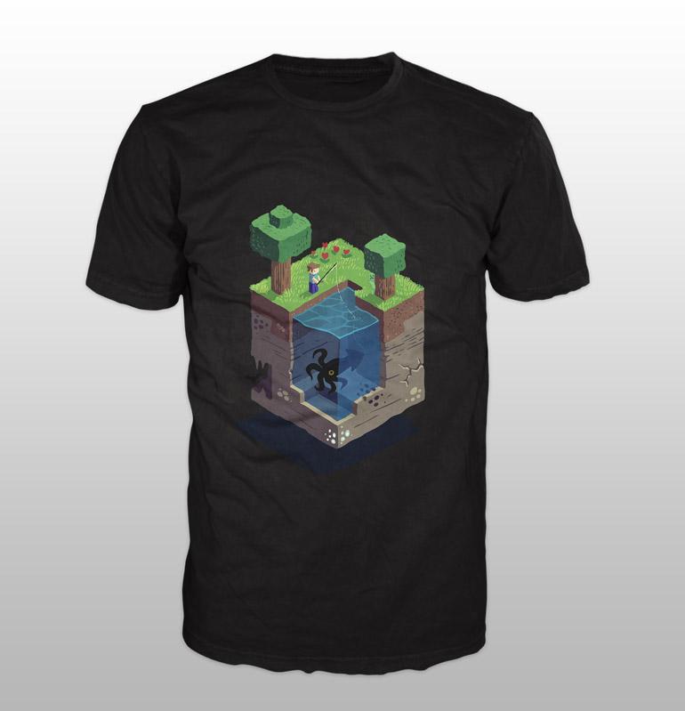 koszulka Minecraft Octopus
