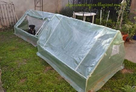 Como hacer un invernadero casero de pvc huertaencasa - Invernadero casero terraza ...