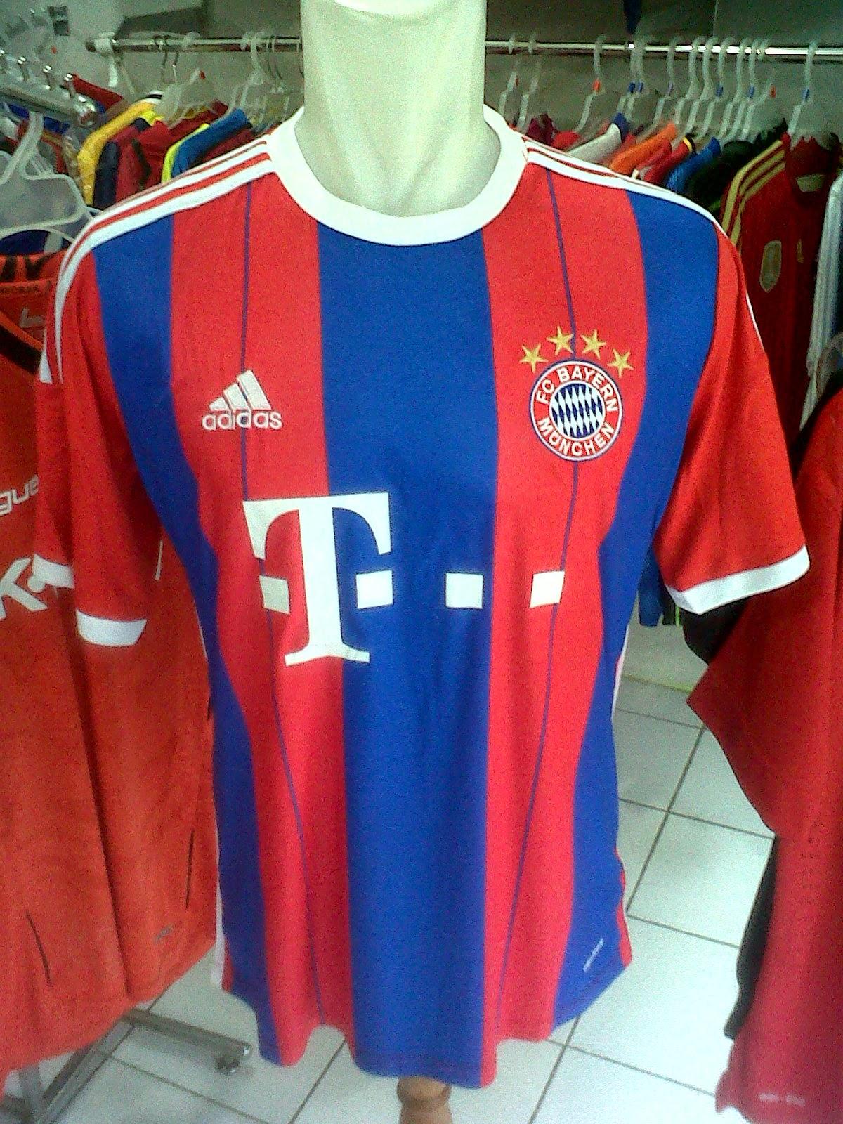 Jersey Bayern Munchen Home 2014/2015