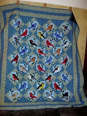Art Threads: Friday Inspiration - Bird Quilts : bird quilt - Adamdwight.com