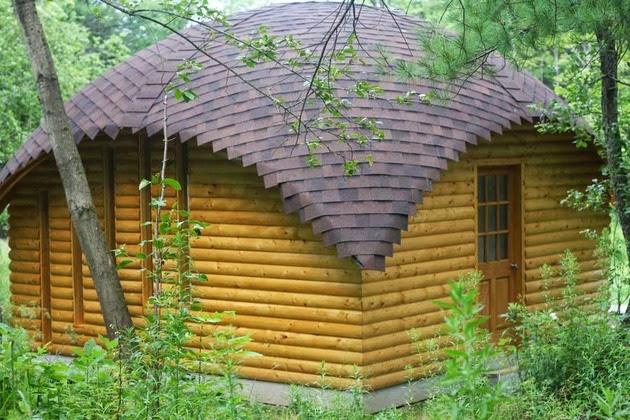 model desain gazebo kayu minimalis untuk taman rumah anda