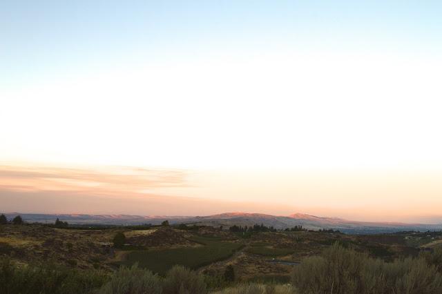 View from Naches Heights, Yakima Washington