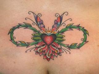 Tatuaje De Corazon Con Simbolo Infinito Tatuajes Fotos Y Tattoos