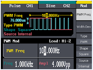 Built-in PWM capabilities simplify the task of creating PWM waveforms