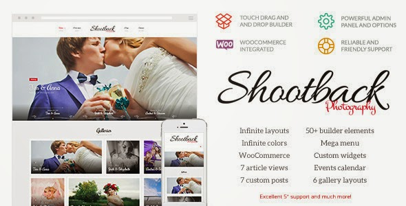 download Shootback - Retina Photography WordPress Theme