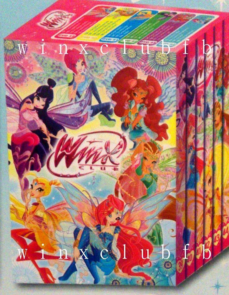 DVD Box: Winx Club Season 6 full in Italy! - Winx Club All