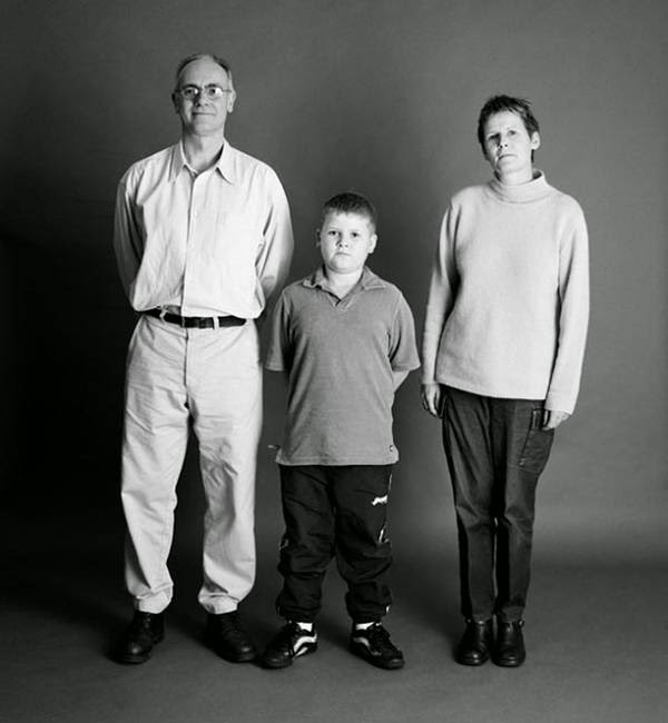A Family's Picture per Year, 1991-2012