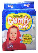 Cumfy Dry Baby Diapers