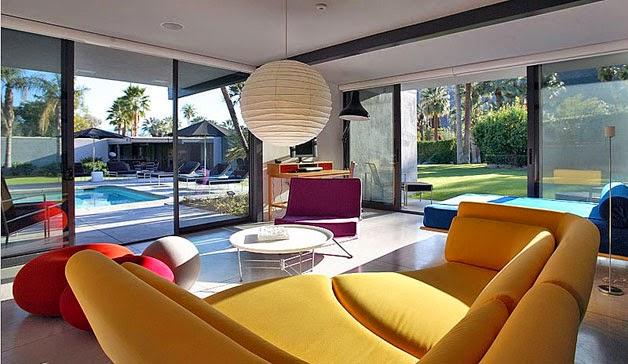 Fotos de la casa que adquirió Leonardo DiCaprio en Palm Springs 3