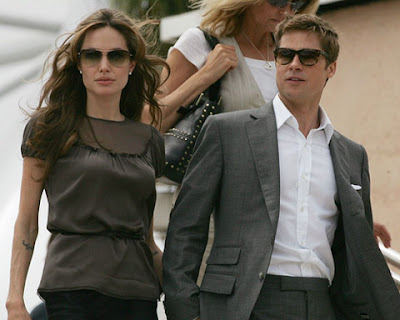 Angelina Jolie and Brad Pitt Wallpapers