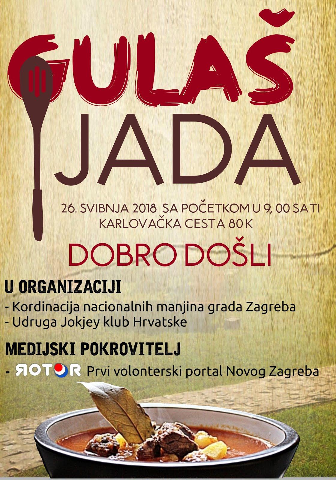 NAJVEĆA - GULAŠIJADA - U NOVOM ZAGREBU