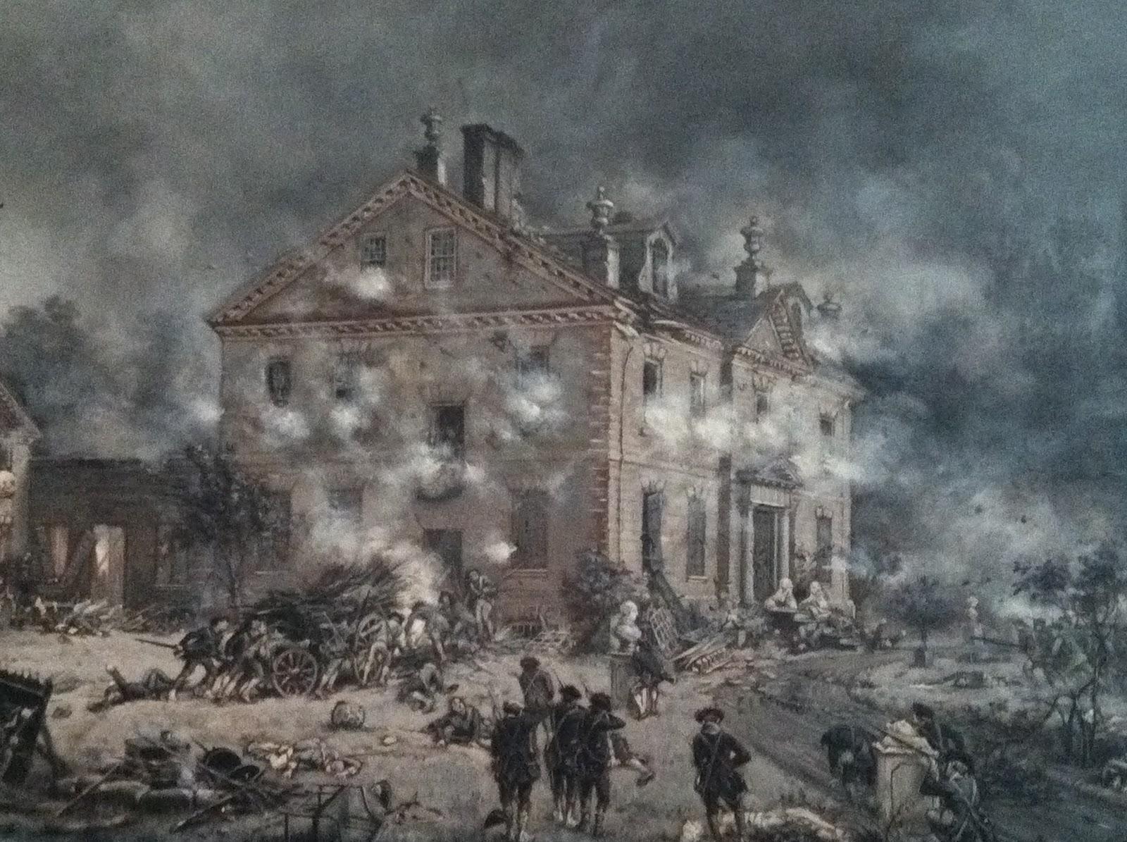 American revolution first battle