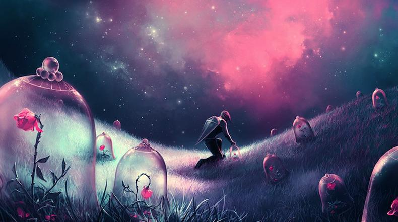 Hermosas pinturas digitales llenos de fantasía de Cyril Rolando