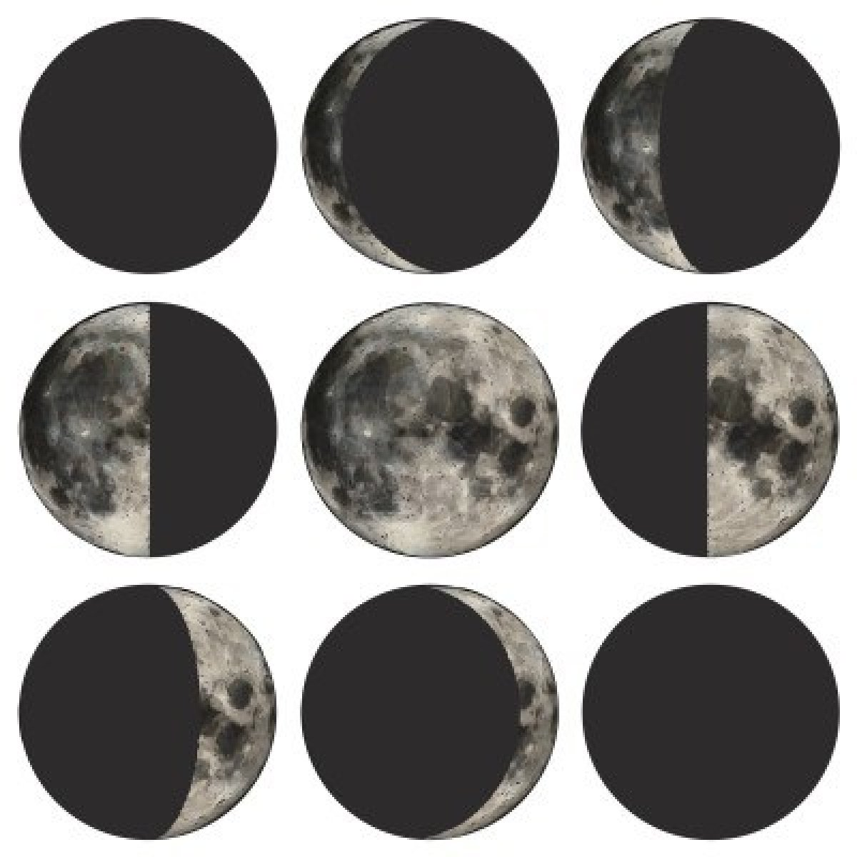 Do now will be to label the various phases of the moon.