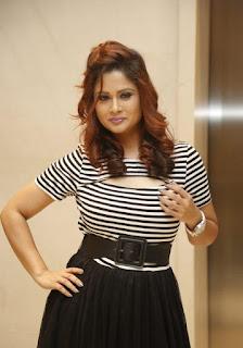 Anchor Shilpa Chakravarthy photos at SIIMA Press Meet