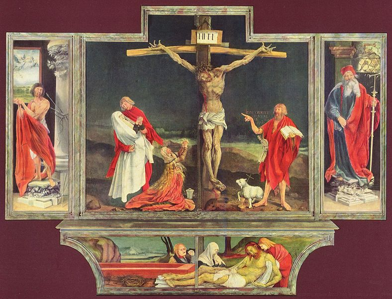 Grunewald Isenheim Altarpiece Art Now and The...