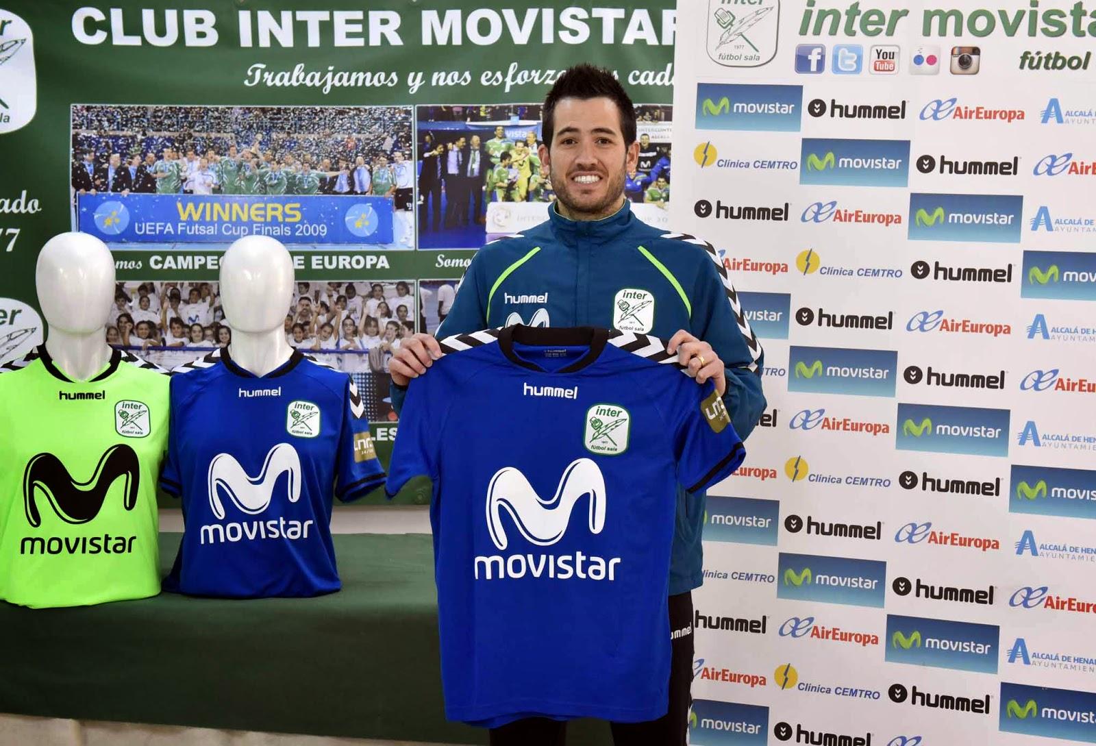 Inter Movistar Fútbol Sala hace oficial la renovación de contrato de Rafael  França Bezerra hasta el 30 de junio de 2018. De esta manera 8e79a60daeabb