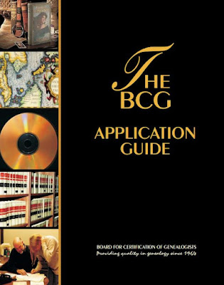 Board for Certification of Genealogists Releases 2016 Edition of the BCG Application Guide