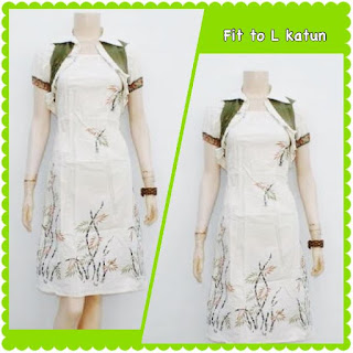Baju Batik Dress DB 5011