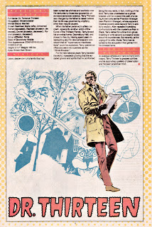 Doctor 13 (ficha dc comics)