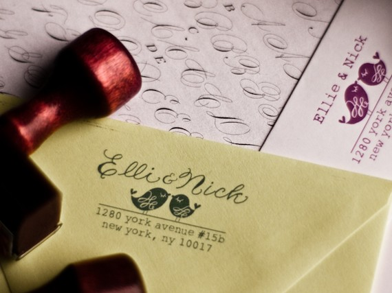 Pretty Little Things In The Details Calligraphy Stamps