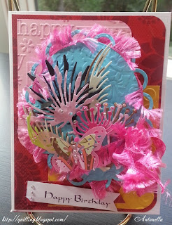 Antonella Sweet Stampin Challenge Make It Monday Birthday Card Mariannes Creatables