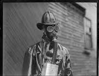 Liturgical gas mask