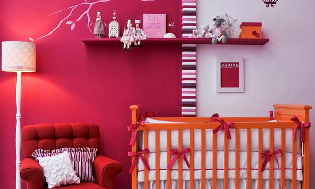 Quarto de baby vermelho ~ Quarto Planejado Vermelho