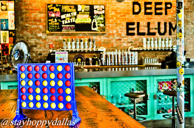 Deep Ellum Taproom Games