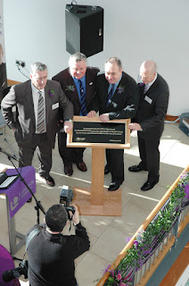 Langside College Campus is officialy open- Alex Salmond opening