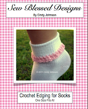 Crochet Edging for Socks.....