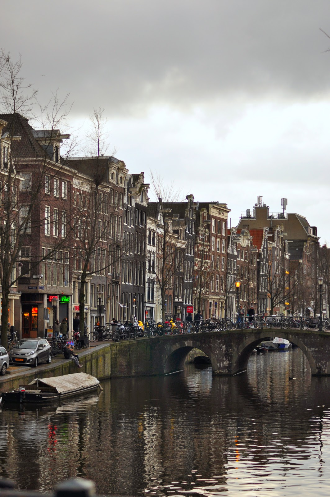 Amsterdam canals trip