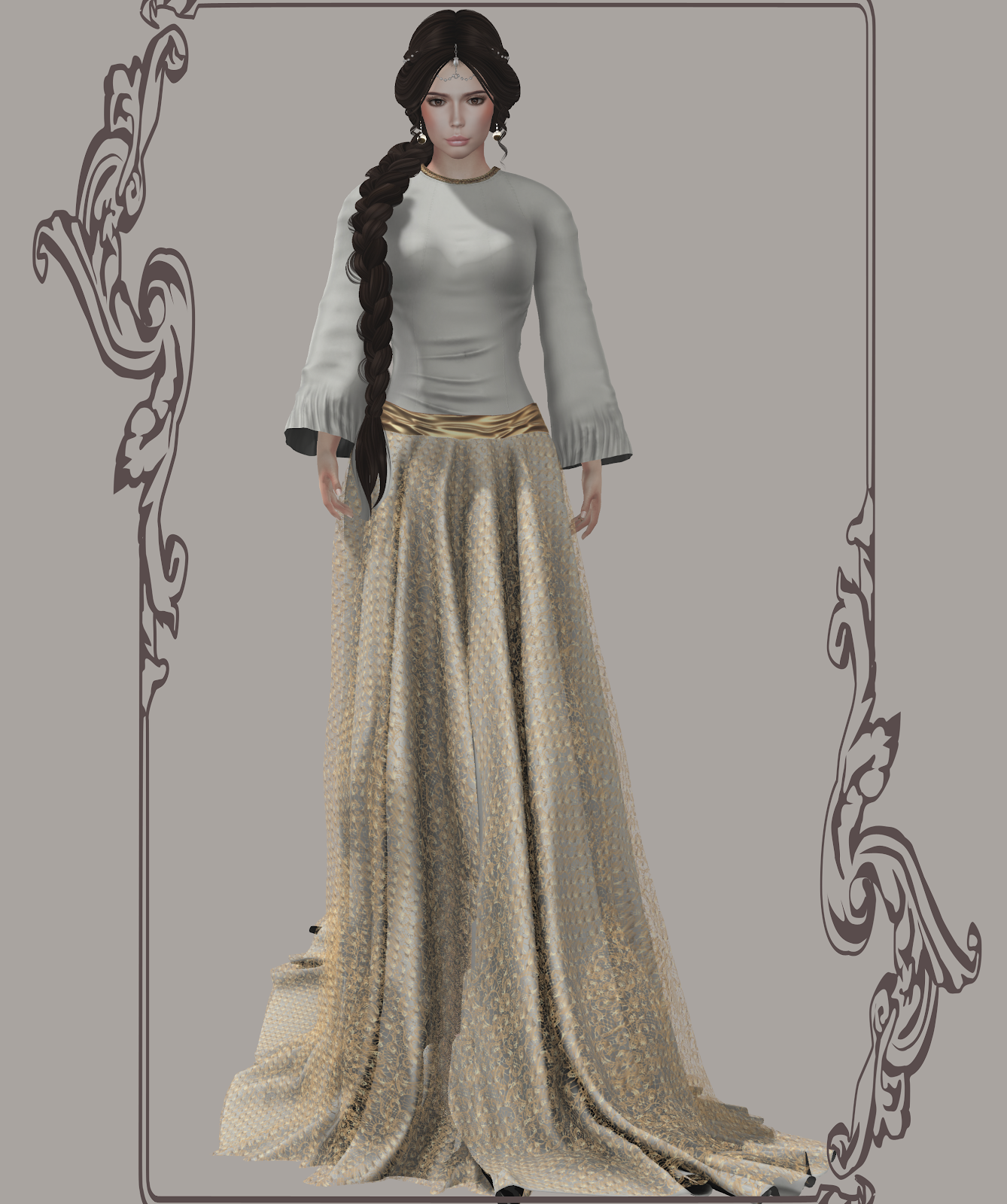 A Diary of My Second Life: A Themed Wedding For The Spring