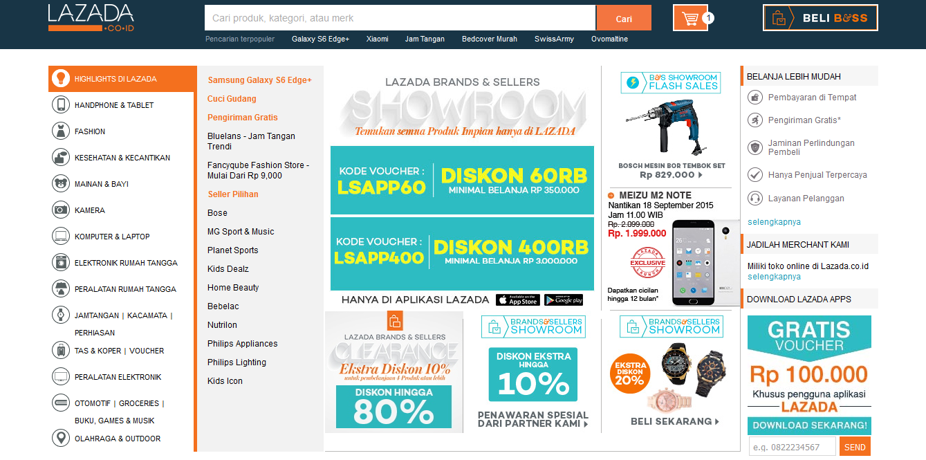 Download Voucher Lazada September 2015