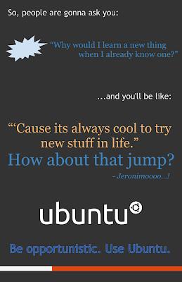 Ubuntu lebih oportunis ketimbang Windows
