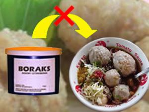 Cara Mendeteksi Bakso yang Mengandung Borax