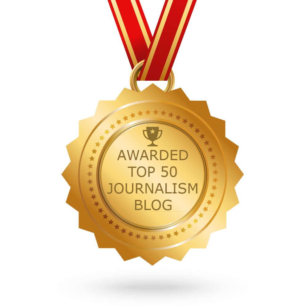 Awarded Top 50 Journalism Blog