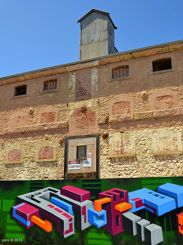 wonderwalls port adelaide - blocks
